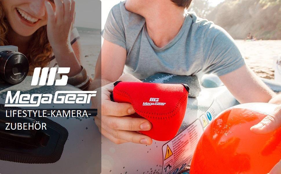 Megagear Ultra Light Neoprene Camera Case With Camera Photo