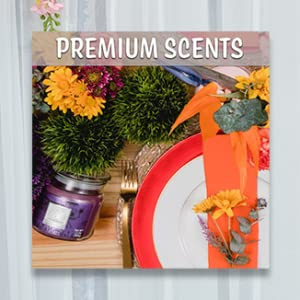 aroma candles candle gifts scented fall pillar soy vanilla pumpkin spice lavender aromatherapy