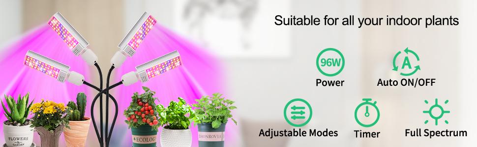 NANYNNU plant grow lights indoor