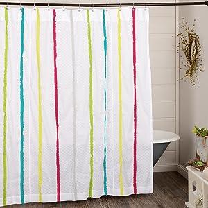 vhc brands, bedding, coastal, home decor, 3 coast way, three coast way, shower curtain