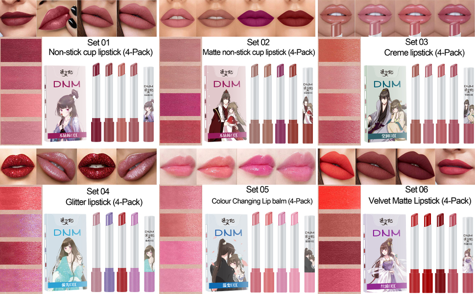 Psychic Princess lipstick set