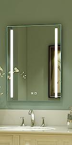 led mirrors for bathtroom