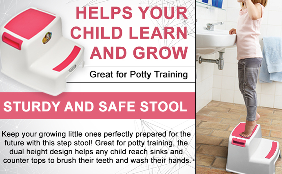 Baby toilets stool, potty step stool, kids toilets care, two step stool, baby products