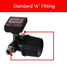 "Standard ¼"" Fitting"