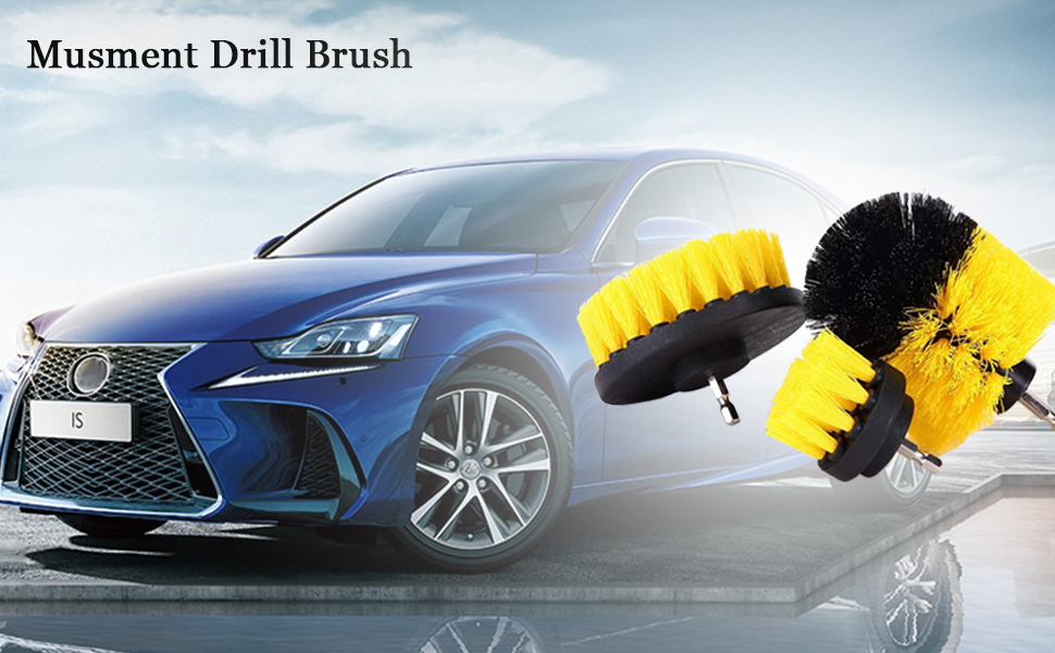 car drill brush
