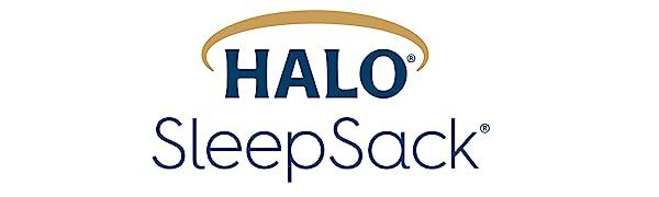 halo sleep sack swaddle logo