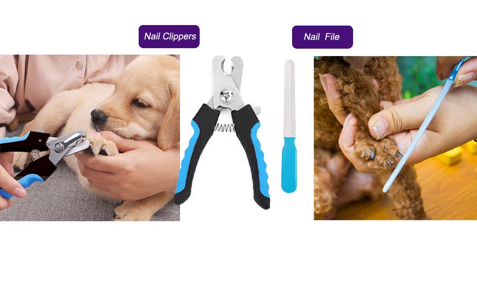 Dog Clipper & Nail File
