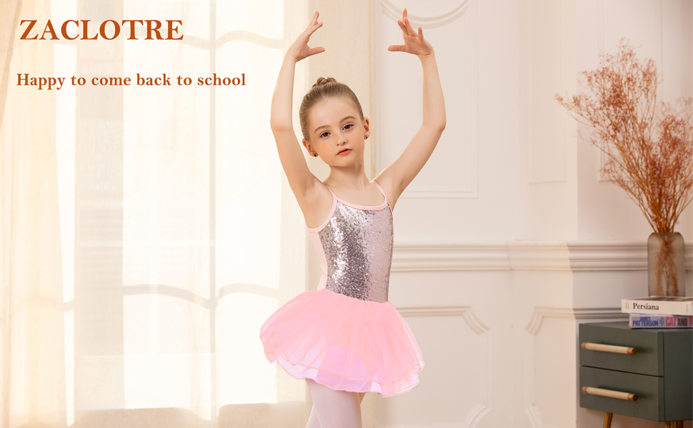 New Leotards for Girls` Coming Back to School