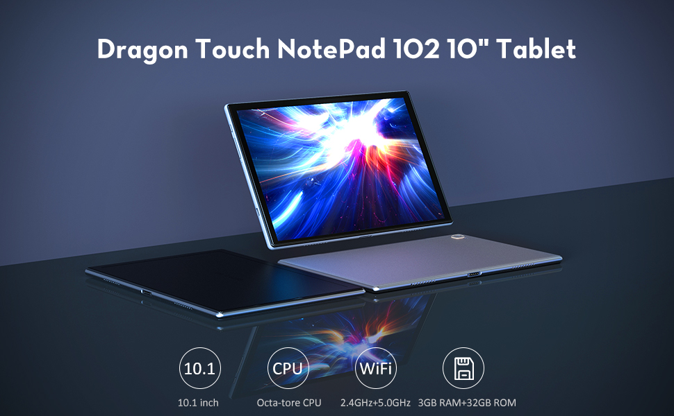 Dragon Touch NotePad 102 tablet