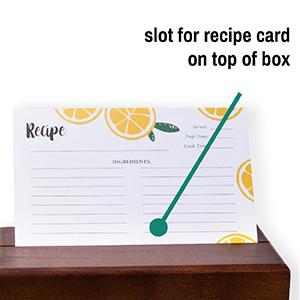 rustic recipe box mom gifts 4x6 recipe box recipe card organizer cards box set bulk reciepe recepy