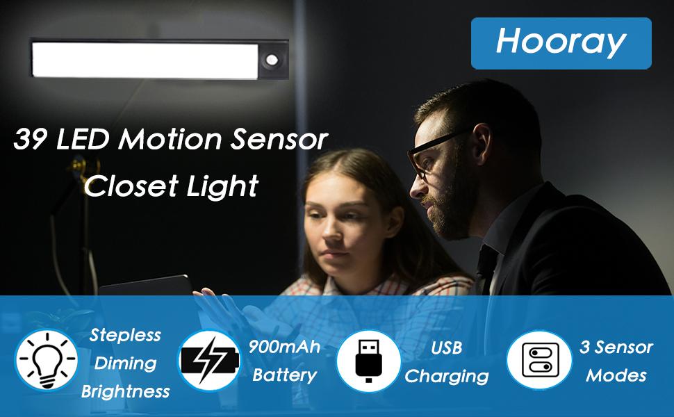 hooray motion sensor closet light