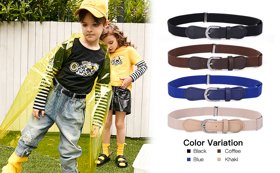 Kids Elastic Adjustable Belts