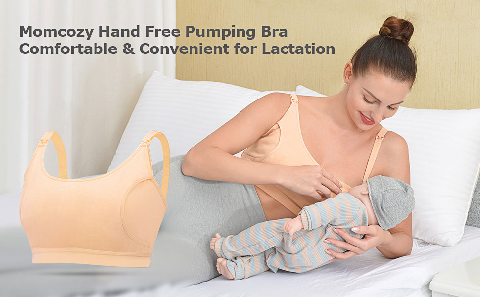 pumping bra hands free