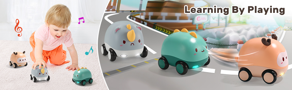 baby push and go car toy