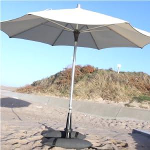 Pie de parasol, base de sombrilla, pie de sombrilla, base de parasol