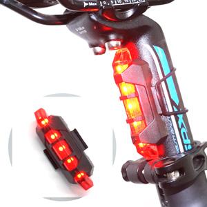 fietsverlichting ingesteld