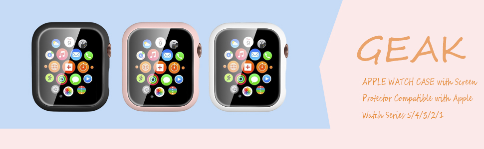 GEAK compatible with apple watch case 40mm