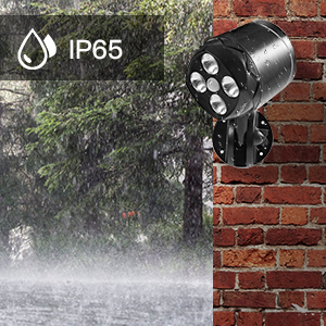 Easy to reEaIP65 Waterproof Security Lightssy to replace the batteriesplace the batteries