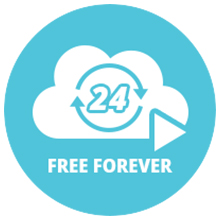 FREE 24/7 Cloud Recording
