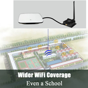 200Mbps WiFi Extender Repeater Range Extender WiFi Booster to 1200 sq.ft Work with Any WiFi Routers
