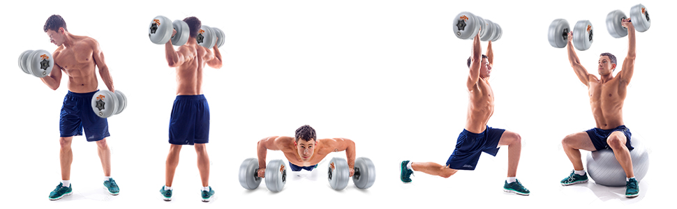 Infinite Variety of Exercises Targeting All Parts of the Body
