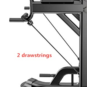 2 drawstrings