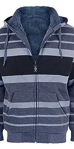 hoodies sherpa lined heavy fleece winter jackets coats warm soft fashion