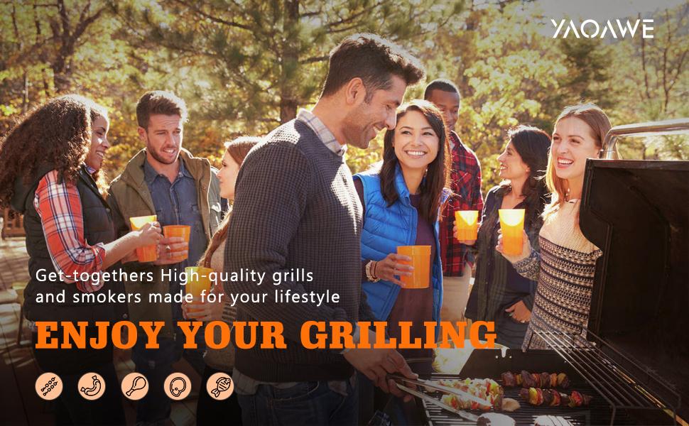 enjoy grilling with family Paty  BBQ season