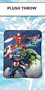 Avengers Throw