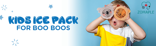 Kids Ice Pack for Boo Boos
