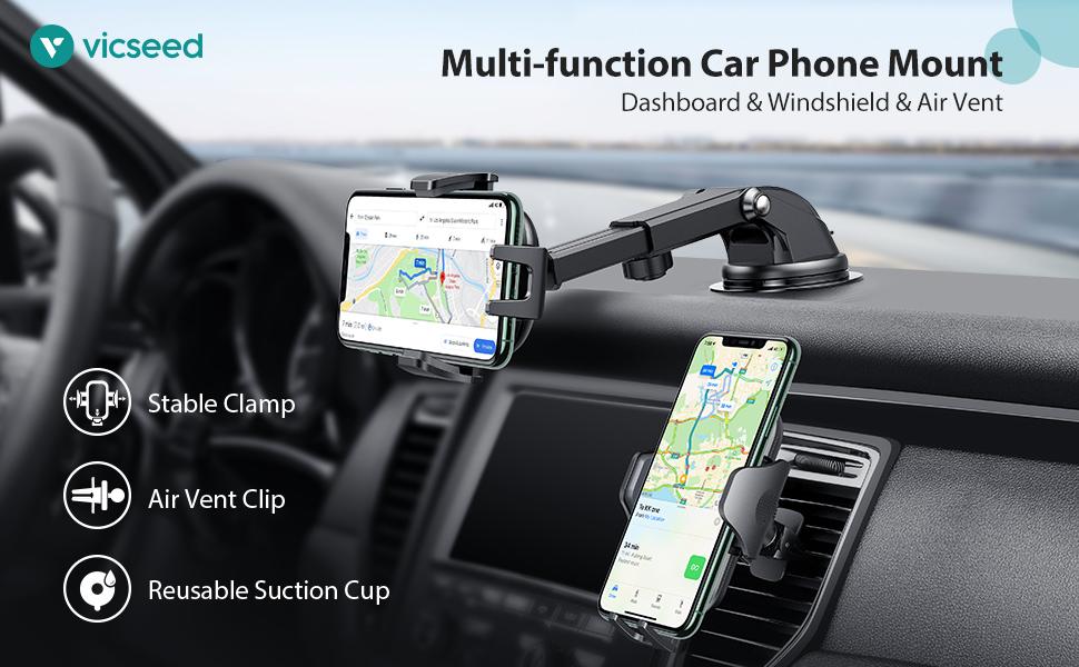Multi-function Car Phone Mount