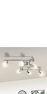 plafonnier spot spot plafond 6 spots plafonnier gu10 orientable pas cher cuisine