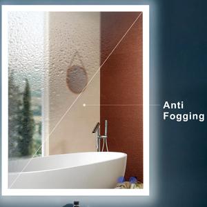 Anti fog mirror