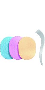s-fit スポンジ ヘラ 洗って使える 3色セット