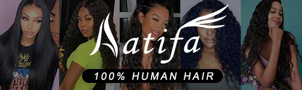 Aatifa--100% human hair