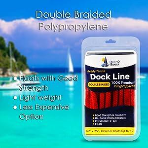double braided polypropylene