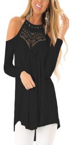 Maglieria Basic Shirt Eleganti Camicetta Maglia Manica Lunga Donna Lady Top Casual