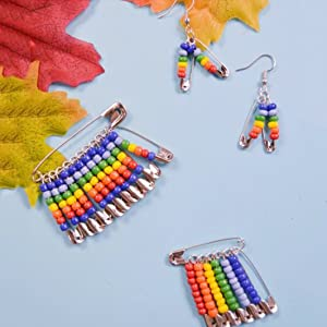 Safety pins for earring