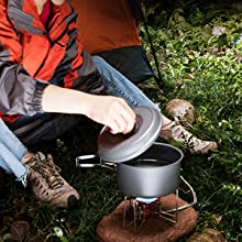 family camping cookware