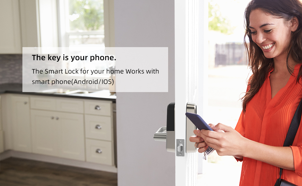 APP to control the smart lock