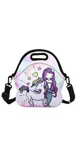 Unicorn Mermaid Lunch Bag