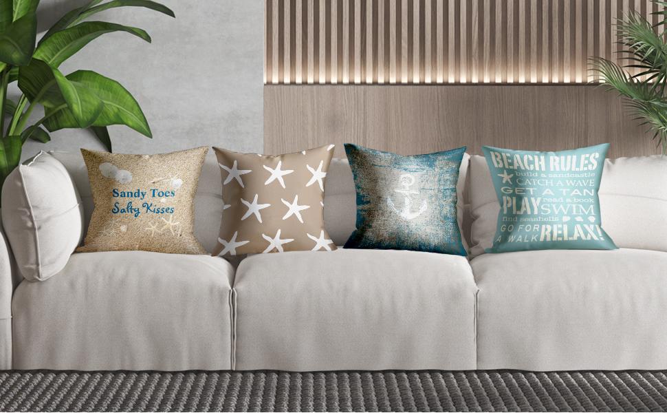 """2x 20/""""x26/"""" Rectangle Cushion Pillow Pillow Case Elastic Sofa Cushion Cover"""