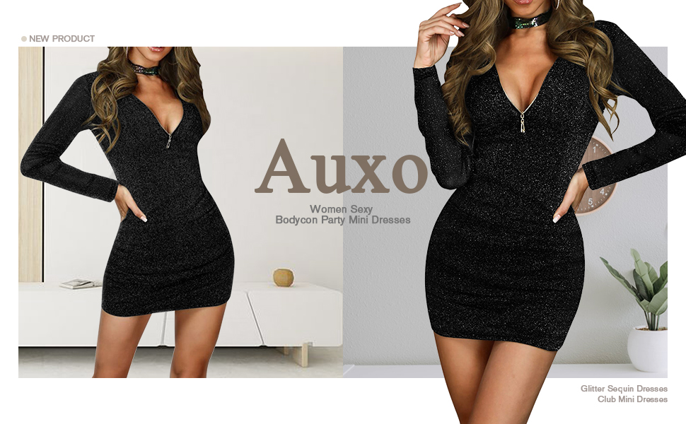 sexy bodycon party mini dress