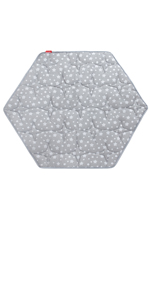 hexagon playpen mat