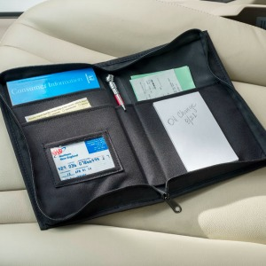 Receipts and Cards High Road Glove Box Organizer with Expandable Files for Registration Insurance