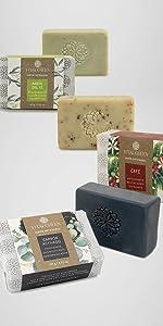 árbol del té café carbón activado jabones artesanales aceites esenciales belleza cuidado personal