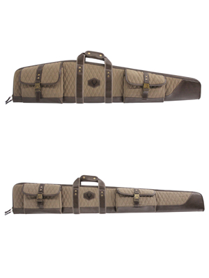 President Series Quilted Rifle or Shotgun Case and Pistol Cases