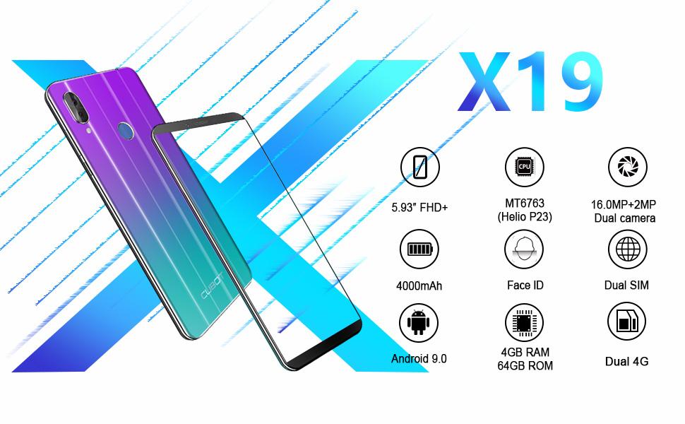 X19 unlocked cell phone