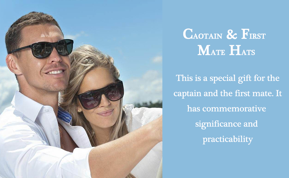 Captain & First Mate Hats