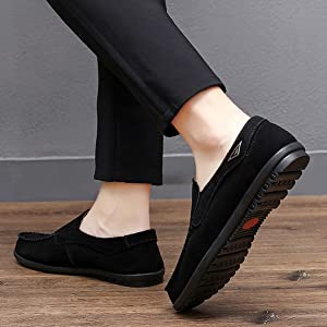 Go Tour Men's Comfortable Casual Slip on Loafer Shoes